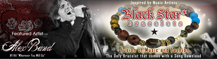 Blackstar Bracelets inspired by Musicians