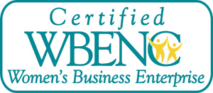 Certified by the Womens Business Enterprise Council