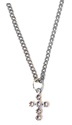 Wings of Faith Swarovski Cross Neck-Clear