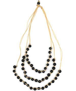 Good Luck Catcher Necklace (Black) (772)