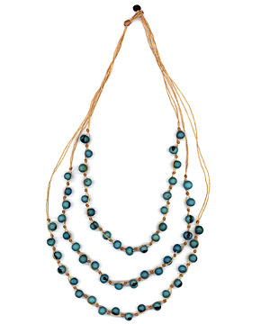 Good Luck Catcher Necklace (Turquoise)(721)