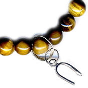 Tigers Eye/Horse Shoe - Protection Good Luck (604)