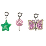 Star, Lollipop, Butterfly