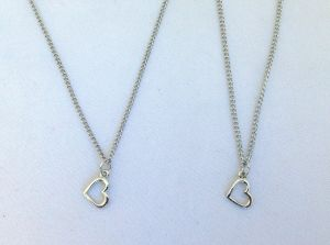 My Doll n' Me Necklace Set- Heart