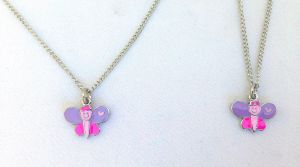 My Doll n' Me Necklace Set- Butterfly
