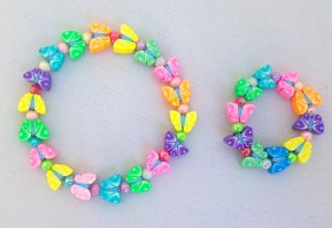 My Doll n' Me Bracelet Set-Fimo Butterfly