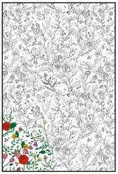 Joy of Coloring (24x36) Enchanted Garden