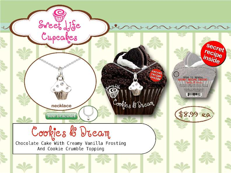 Cookies and Dream Necklace