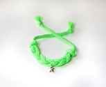 Braided Neon Green with Star