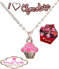 I Love Chocolate Necklace