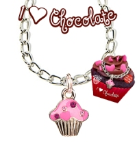 I Love Chocolate Bracelet