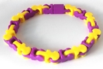 Puzzle-itz Purple/Yellow