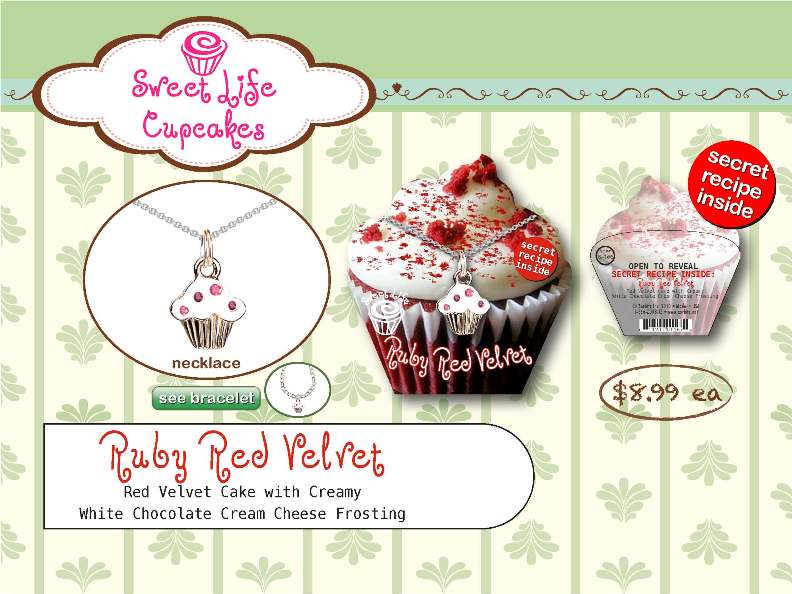 Ruby Red Velvet Necklace