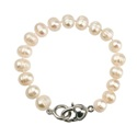 Real Pearl Bracelet White