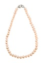 Real Pearl Necklace Pink