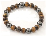 Magnetic Bracelet Tiger's Eye